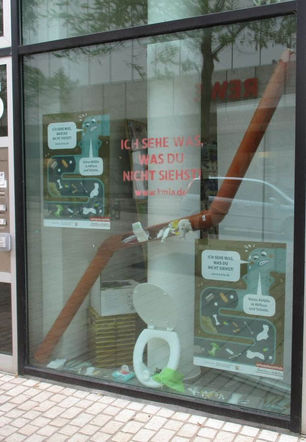 Schaufenster in Lüdenscheid